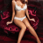 Amy Childs is the face of Tesco's Bra Queen range