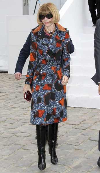 Vogue named magazine of the year anna wintour