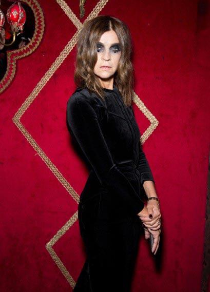 Carine Roitfeld vampire Givenchy Irreverent Dinner Paris 2011