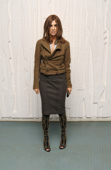 Carine Roitfeld talks about how she prefers using curvy models (and something about bondage…)