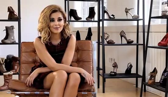 Cheryl Cole Stylist Pick behind the scenes video shoe designing