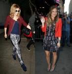 Cheryl Cole Hilary Duff X Factor