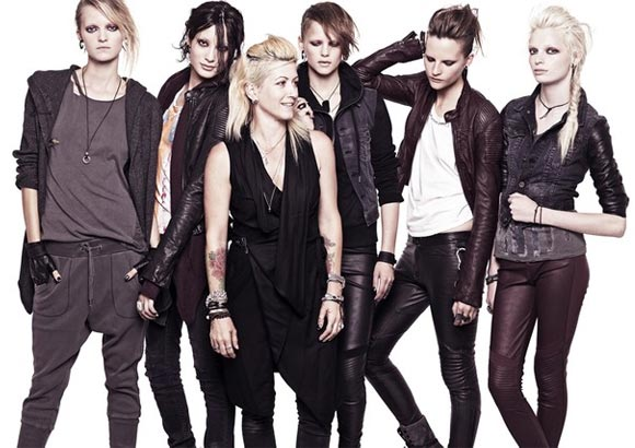 H&M collaborating with The Girl With the Dragon Tattoo?!
