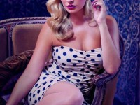 Holly Willoughby very autumn winter 2011 hollywood vintage