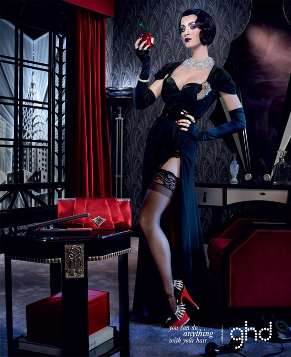 Katy Perry goes for 1920s glam in new ghd campaigns (and she wants hippie hair!)