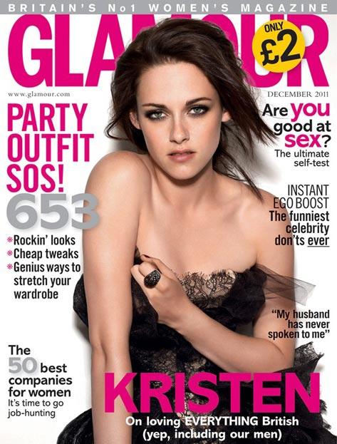 kristen stewart glamour december 2011