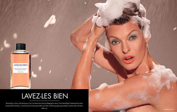 Steven Meisel creates fake adverts for November's W magazine