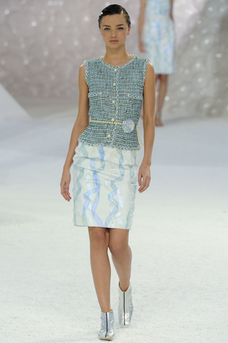 Chanel Spring Summer 2012 Paris Fashion Week Miranda Kerr