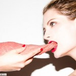Mischa Barton sinks her teeth into new Tyler Shields photoshoot
