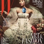 Nicki Minaj looks regal in W's Art and Fashion issue