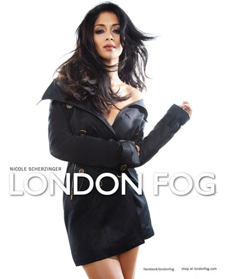 Nicole Scherzinger is the new face of London Fog!