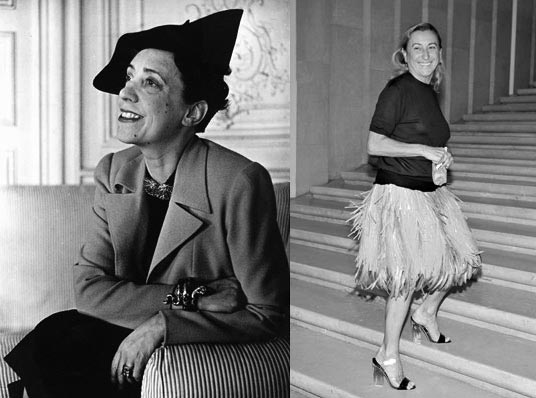 Elsa Schiaparelli and Miuccia Prada honoured at the Met