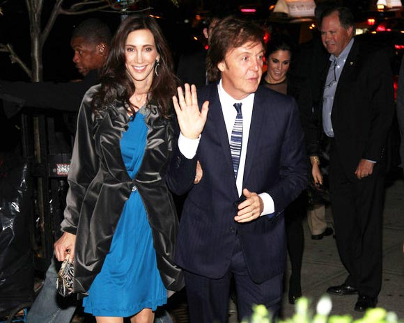 Ralph Lauren and Bon Jovi among the guests at Paul McCartney and Nancy Shevell's New York wedding bash