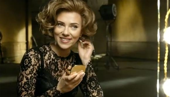 scarlett johansson dolce and gabbana the one commercial