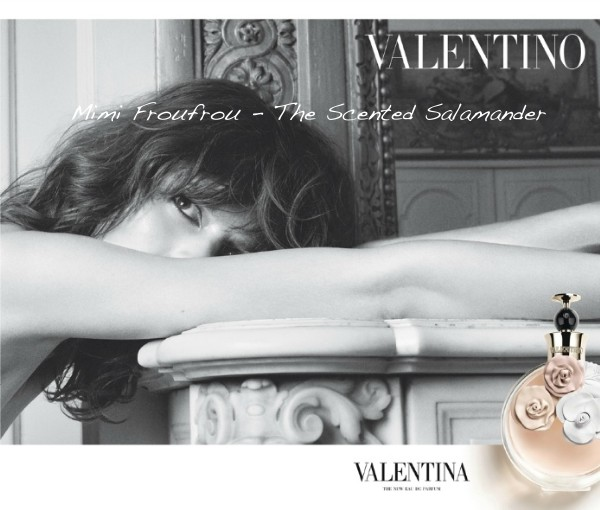 Valentino Valentina perfume Freja Beha Erichsen