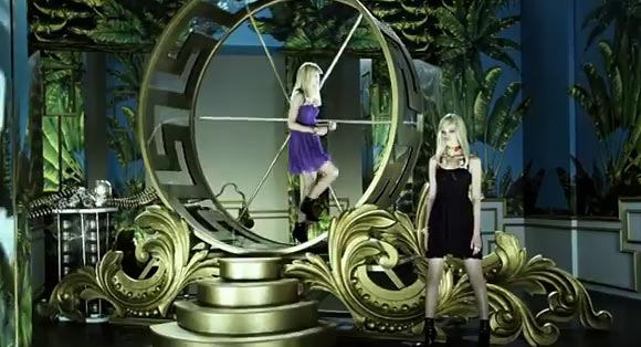 WATCH: A behind-the-scenes look at the Versace for H&M TV commercial!