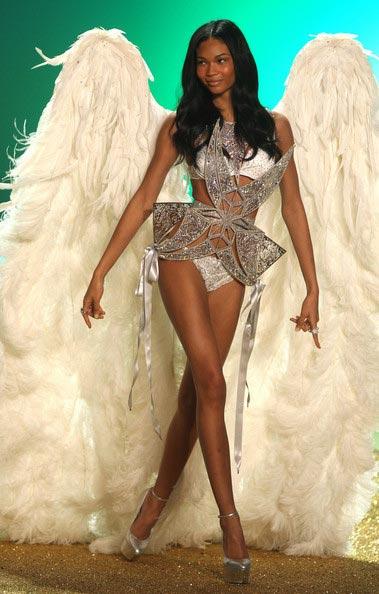 chanel iman victoria's secret show 2010