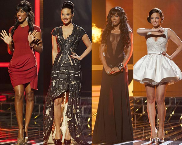 x factor judges fashion