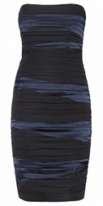 Alice + Olivia kristen ruched tube dress