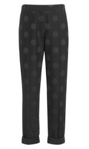 Boutique by Jaeger spot jacquard trouser
