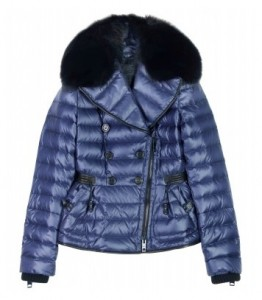 Burberry Prorsum down jacket with fur lapel
