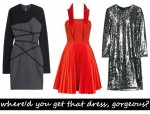 Designer party dresses for less