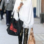 Fearne Cotton makes a poncho no-no