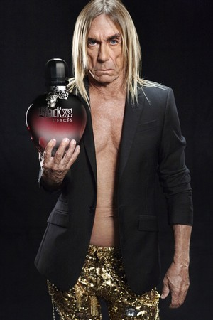 Iggy Pop is the face of brand new Paco Rabanne scents!