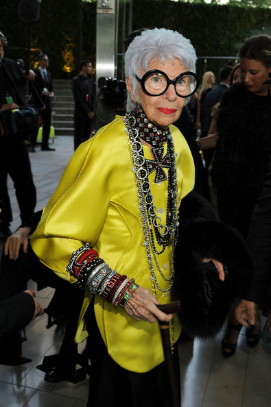Iris Apfel: is this Rachel Zoe in the next 50 years?