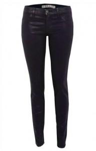 J Brand waxed skinny jeans