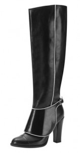 Jaeger catwalk high leg boot