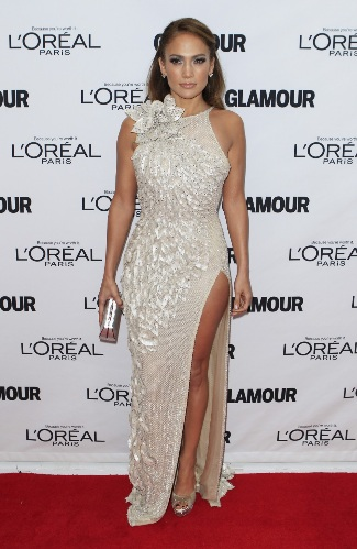 J-Lo turns on the glamour in Atelier Versace