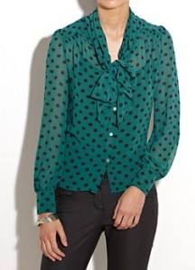 New Look Polka dot top
