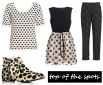 Polka dot fashion autumn winter 2011