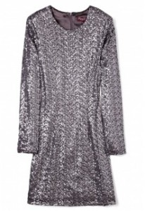Project D silver claudia sequin dress