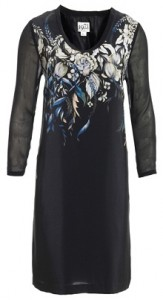 Reiss Alley printed shift dress