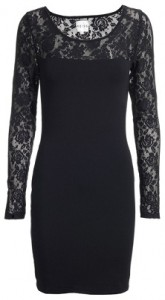 Reiss Foxy lace sleeve dress