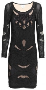 Reiss Leonie powermesh dress