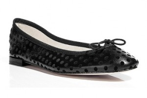 Repetto ballerina flats with polka dots