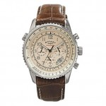 Treat him to: Rotary cream dial chronograph watch