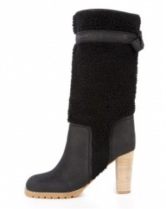 See by Chloe Guistino shearling knee boot