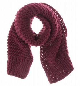 Stella McCartney chunky knit scarf