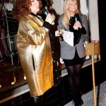 Kate Moss, Alexa Chung and Sir Paul come out to see Ab Fab's Eddie switch on Stella McCartney's Christmas lights
