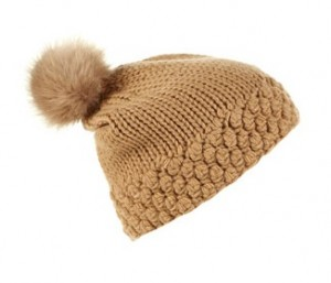 Topshop fur pom mini hat