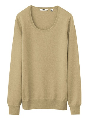 Deal of the day: Uniqlo cashmere crew neck sweater