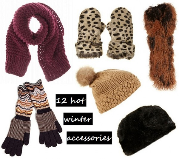 Keep the cold out with these hot winter accessories!