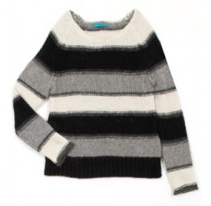 alice + olivia striped alpaca