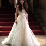 First Look: Blair Waldorf's wedding dress!