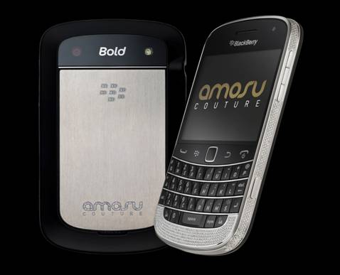 Will this Swarovski encrusted Blackberry be going on your Christmas list?