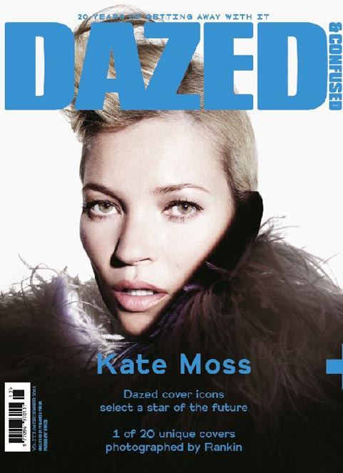 dazed and confused kate moss 20th anniversary special edition 20 covers